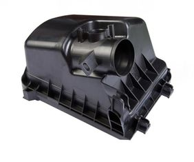 China PPA Black Plastic Auto Parts Mold Single Cavity For Auto Engine Housing Parts supplier