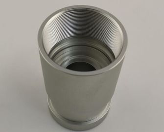 High Volume CNC Precision Turned Parts , Aluminum Alloy 6063 Small Turned Parts