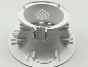 China Professional Custom Injection Molded Plastics Durable For White Color ABS Housing supplier