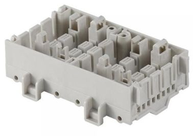 China White Color ABS Custom Plastic Injection Molding For Casing And Housing supplier