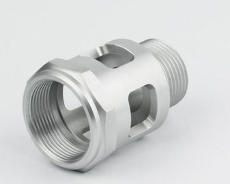 OEM CNC Stainless Steel Turned Parts , Aluminum CNC Precision Turning Lathe Machinery