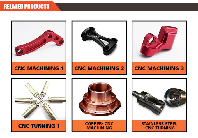 Low Cost CNC Turning Parts Natural Color With + / - 0.01-0.02MM Tolerance